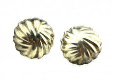 Cercei de argint, stil modern minimalist, manufactura Mexic