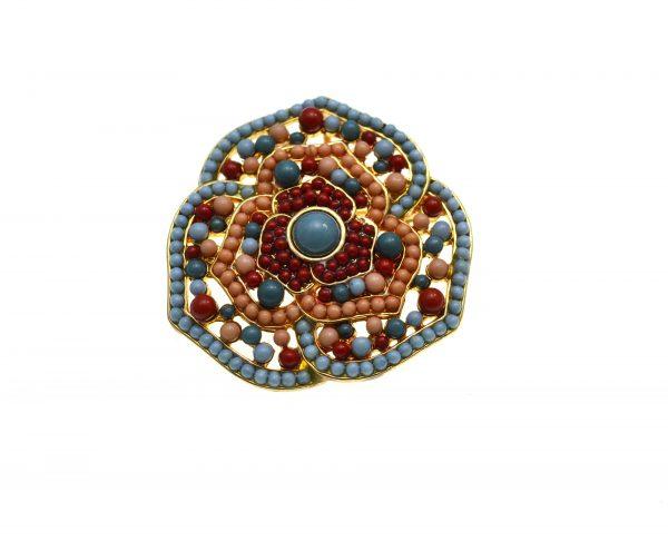 Brosa pandant Premier Designs, cristale decorative, model clasic